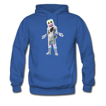 Load image into Gallery viewer, Marshmello Unisex Hoodie Fortnite Video Game Sweatshirt - royal blue