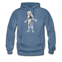 Load image into Gallery viewer, Marshmello Unisex Hoodie Fortnite Video Game Sweatshirt - denim blue