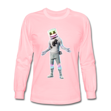 Load image into Gallery viewer, Marshmello Long Sleeve Fortnite Video Game T-Shirt - pink