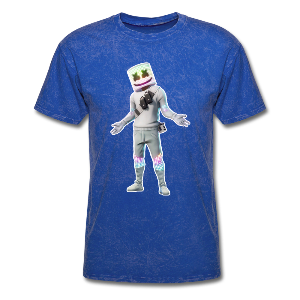 Marshmello Unisex Mineral Fortnite Video Game T-Shirt - mineral royal