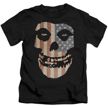 Load image into Gallery viewer, Misfits Fiend Flag Kids Band T-Shirt