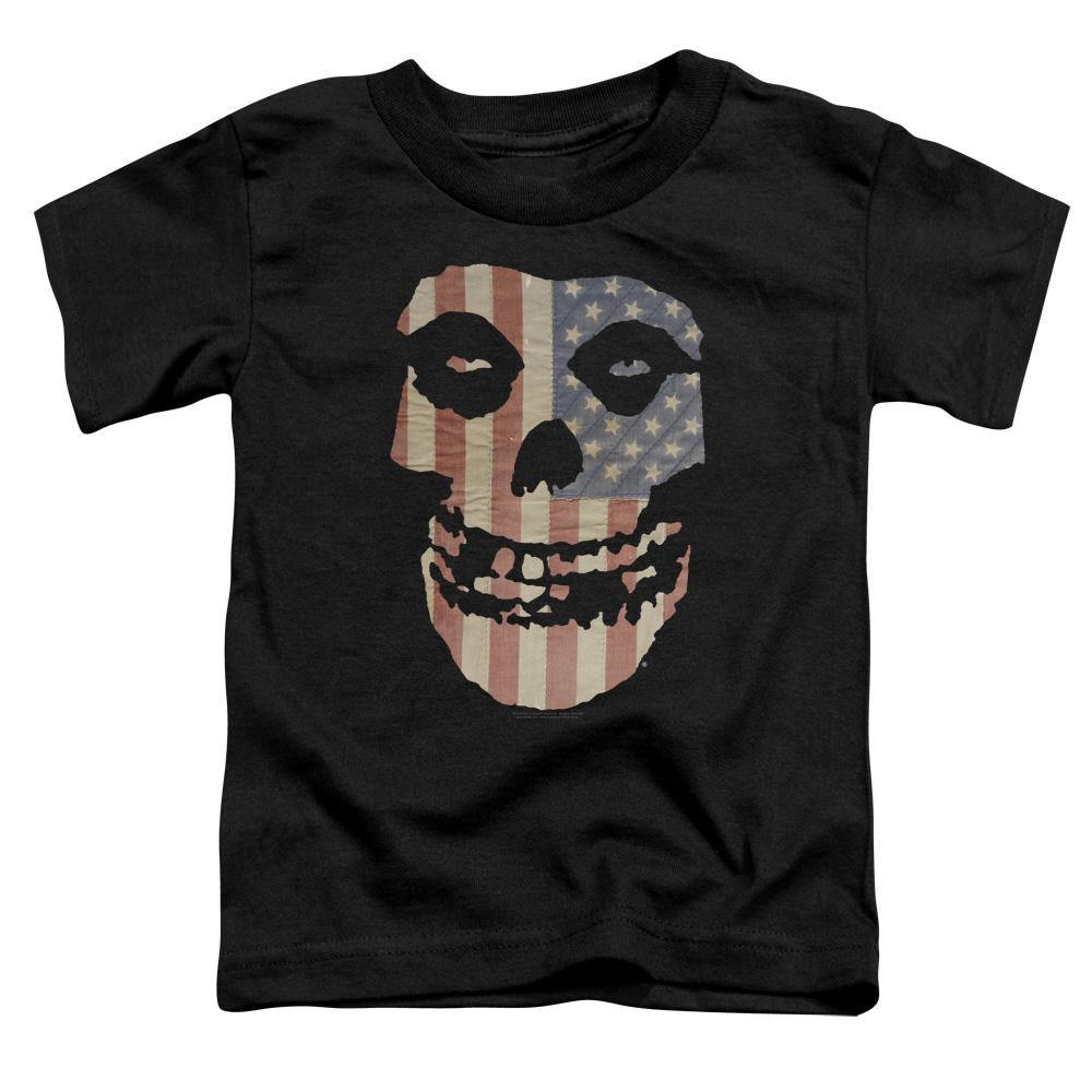 Misfits Fiend American Flag Toddler Band T-Shirt