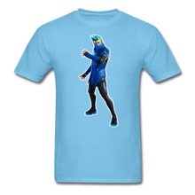 Load image into Gallery viewer, Ninja Fortnite Video Game T-Shirt - aquatic blue