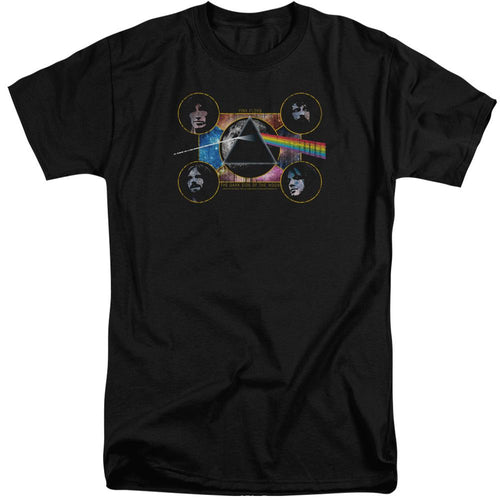 Pink Floyd The Dark Side Of The Moon Big & Tall Band T-Shirt
