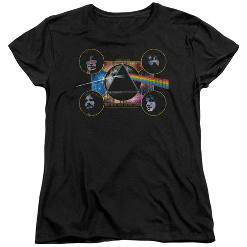 Pink Floyd The Dark Side Of The Moon Women's Band T-Shirt