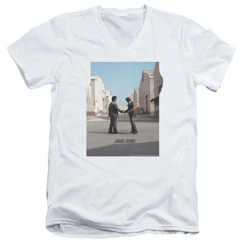 Pink Floyd Wish You Were Here V Neck Band T-Shirt