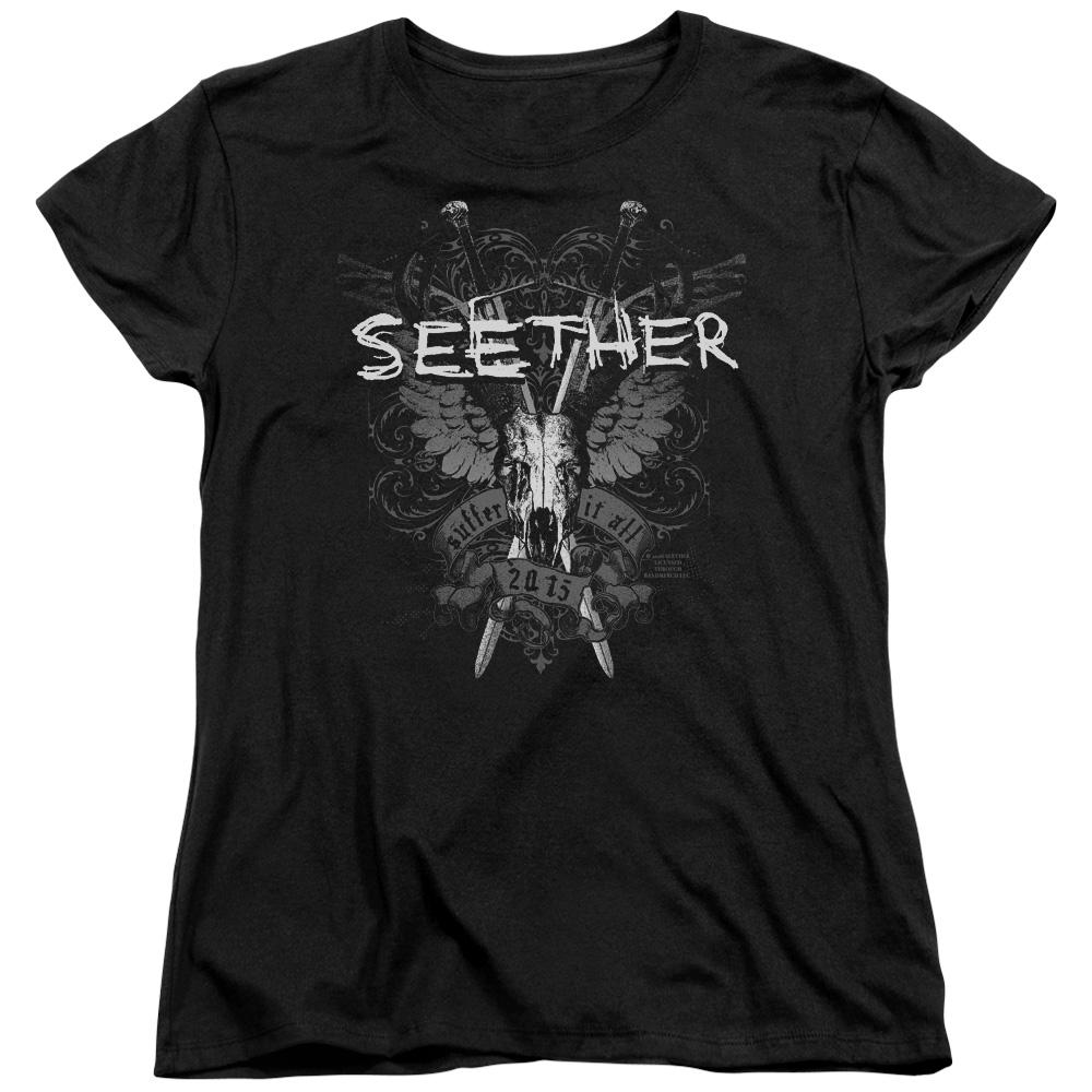 Seether Suffer Women's Band T-Shirt