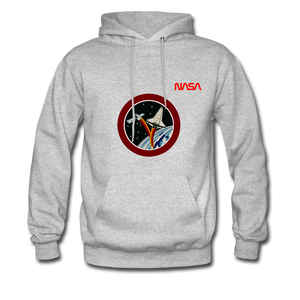 NASA Starline Hoodie - heather gray