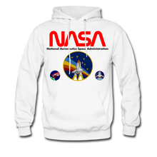 Load image into Gallery viewer, NASA Multi-patch Hoodie - white