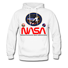 Load image into Gallery viewer, NASA Flying Eagles Hoodie - white