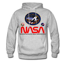 Load image into Gallery viewer, NASA Flying Eagles Hoodie - heather gray