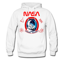 Load image into Gallery viewer, NASA Space Lab Hoodie - white