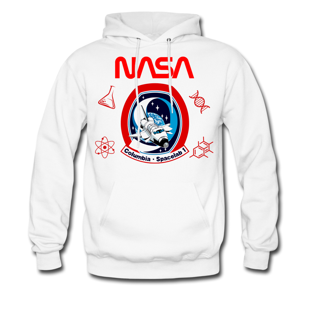 NASA Space Lab Hoodie - white
