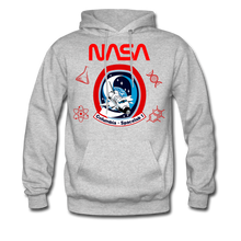 Load image into Gallery viewer, NASA Space Lab Hoodie - heather gray