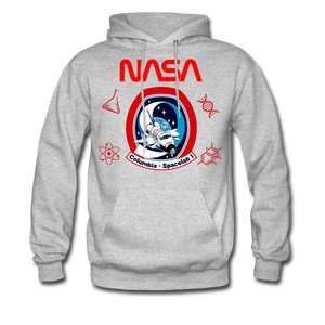 NASA Space Lab Hoodie - heather gray