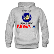 Load image into Gallery viewer, NASA Endeavour's First Launch Hoodie - heather gray