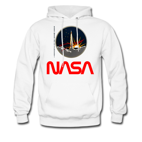 NASA Morning Hoodie - white
