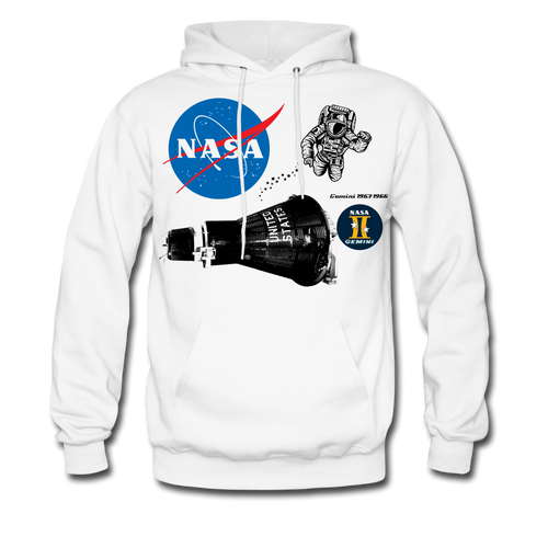 NASA First Spacewalk Hoodie - white