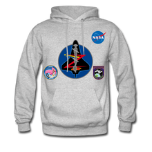 Load image into Gallery viewer, NASA Mission 92 Hoodie - heather gray