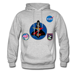 NASA Mission 92 Hoodie - heather gray