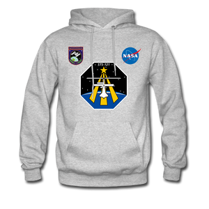 NASA Mission 121 Hoodie - heather gray