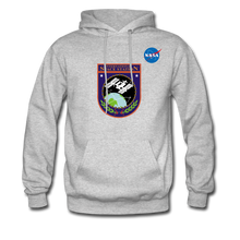 Load image into Gallery viewer, NASA ISS Hoodie - heather gray