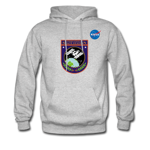 NASA ISS Hoodie - heather gray