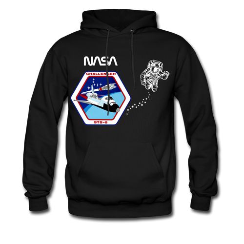 NASA Shuttle Walk Hoodie - black