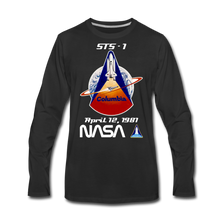 Load image into Gallery viewer, NASA Columbia First Launch Longsleeve - black