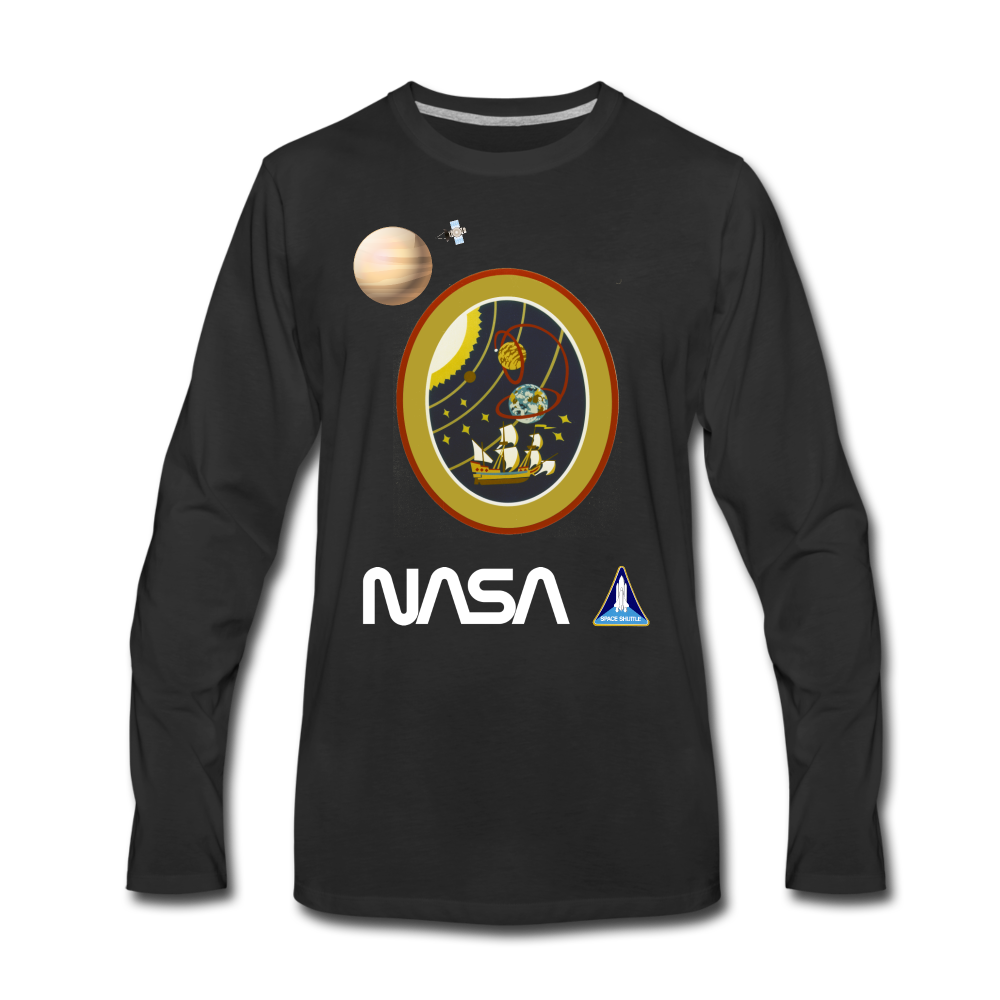 NASA Magellan Launch Long Sleeve - black
