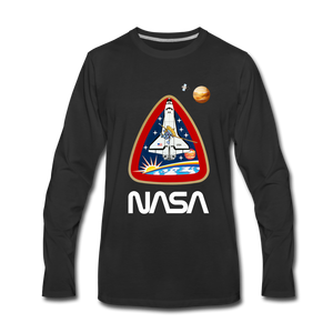 NASA Galileo Launch Long Sleeve - black