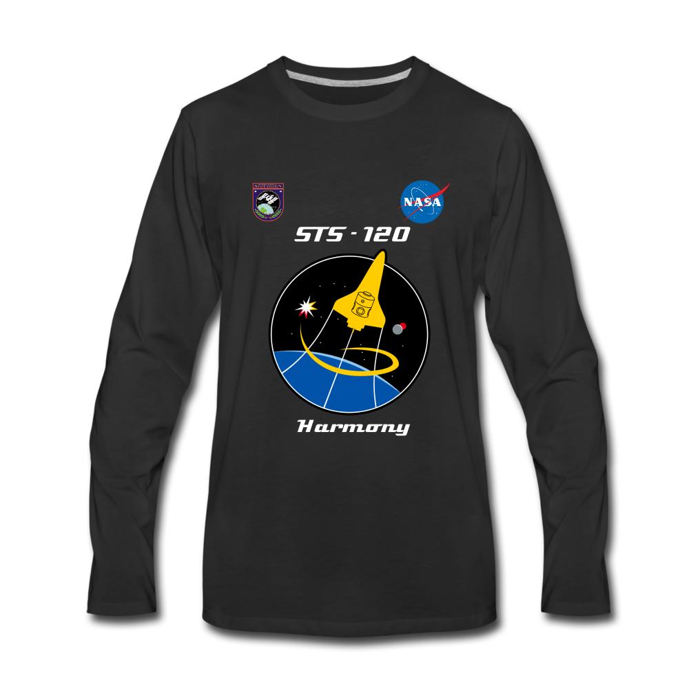 NASA ISS Mission 120 Harmony - black