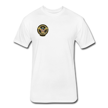Load image into Gallery viewer, NASA Military style Fitted Cotton/Poly T-Shirt by Next Level - white