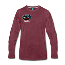 Load image into Gallery viewer, Men's Premium Long Sleeve T-Shirt - heather burgundy