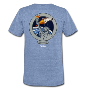 Unisex Tri-Blend T-Shirt - heather Blue