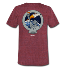 Load image into Gallery viewer, Unisex Tri-Blend T-Shirt - heather cranberry
