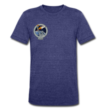 Load image into Gallery viewer, Unisex Tri-Blend T-Shirt - heather indigo