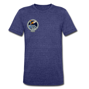 Unisex Tri-Blend T-Shirt - heather indigo