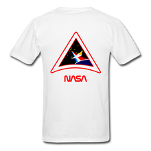Load image into Gallery viewer, Gildan Ultra Cotton Adult T-Shirt NASA PAINTBRUSH - white