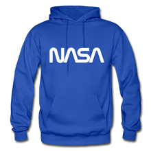 Load image into Gallery viewer, Sputnik style LG NASA FRONT - royal blue