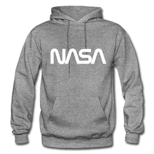 Load image into Gallery viewer, Sputnik style LG NASA FRONT - graphite heather