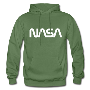 Sputnik style LG NASA FRONT - military green
