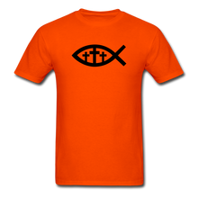 Load image into Gallery viewer, Three Crosses Tee Bright - orange