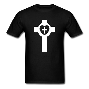 Lutheran Cross tee Dark - black