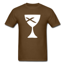 Load image into Gallery viewer, Communion Cup tee Dark - brown