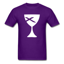 Load image into Gallery viewer, Communion Cup tee Dark - purple