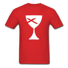 Load image into Gallery viewer, Communion Cup tee Dark - red