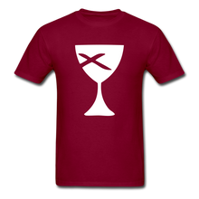 Load image into Gallery viewer, Communion Cup tee Dark - burgundy