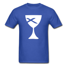 Load image into Gallery viewer, Communion Cup tee Dark - royal blue