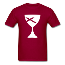 Load image into Gallery viewer, Communion Cup tee Dark - dark red